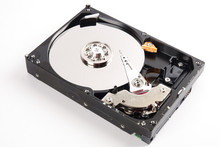 Hard Disk Drive (HDD) Isolated On White.