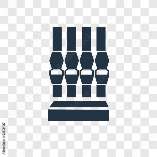 Foto  Attraction vector icon isolated on transparent background, Attraction transparen