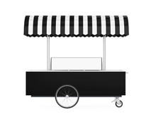 Food Cart Isolated