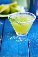 Cucumber Margarita In A Glass ...