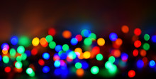 Colorful Bokeh Out Of Focus Ch...