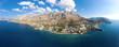 Panorama of Kalymnos, Greece, from bird's eye view