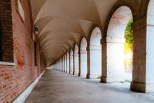 Arcade In Royal Palace Of Aran...