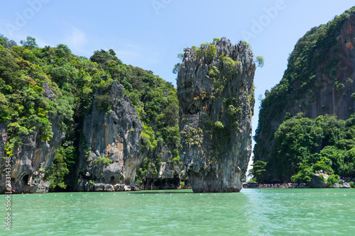 Fototapety, obrazy: Scenic view of James Bond Island or Ko Tapu in Phang Nga, Thailand