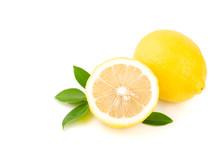 Yellow Lemon Citrus Half Slice...