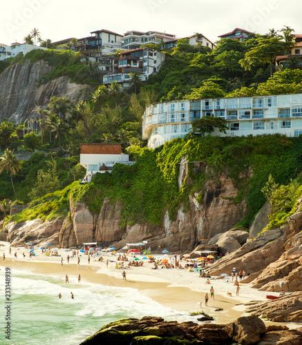 Photo  Idyllic tropical beach in Rio de Janeiro, Brazil