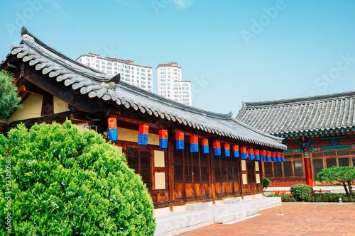 Fotografie, Obraz  Daegu Hyanggyo, Korean traditional architecture in Daegu, Korea
