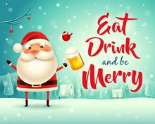 Merry Christmas! Santa Claus W...