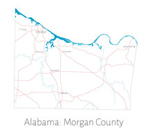 Detailed Map Of Morgan County ...