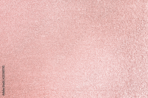 Fotografía  Close up of pink blush glitter textured background