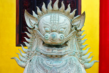 Chinese Temple Guardian Lion I...