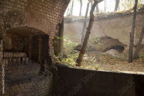 Staande foto Vestingwerk fort Sarbinowo - Twierdza Kostrzyn