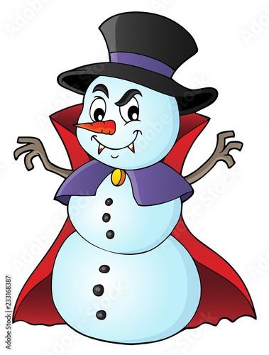 Papiers peints Enfants Vampire snowman theme image 1