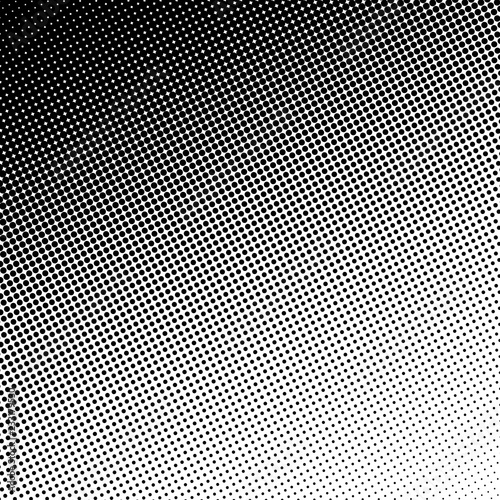 Foto op Aluminium Kunstmatig Retro Halftone Gradient Circle Background