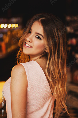 Beautiful Shy Women In Simple Minimal Design Cafe Buy This Stock Photo And Explore Similar Images At Adobe Stock Adobe Stock