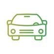 Car Transport Line Gradient Icon