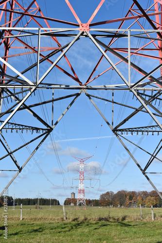 Fotografie, Obraz  électricité énergie environnement tension