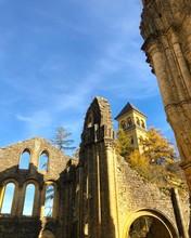 Rovine Nell'abbazia Di Notre Dame Di Orval, Orval, Belgio