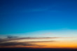 Twilight sky background. Colorful Sunset sky and cloud.vivid sky in twilight time background.Fiery orange sunset sky. Beautiful