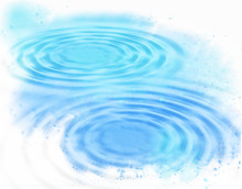 Abstract Blue Water Ripples Ba...