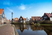 Fishing Village Volendam In The Netherlands