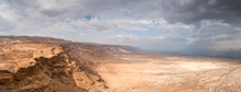 Masada In Israel And The Judea...