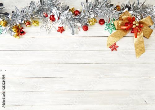 Photo flat lay christmas concepts