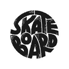 Skateboard Typography Graphics...
