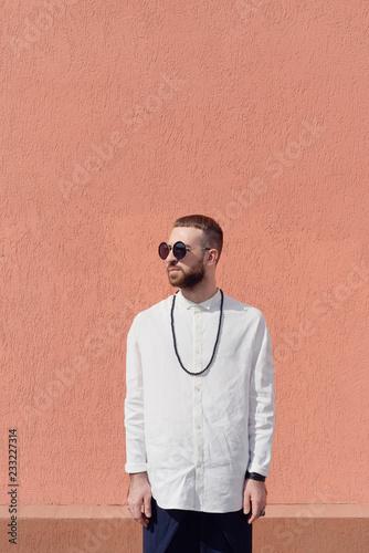 Simple men's fashion
