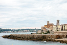 Seascape Of Antibes In Provenc...