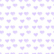 grunge style hearts background. pattern with hearts drawn by hands.