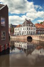 The Corner Kleine Spui And Westersingel In The Dutch City Of Amersfoort