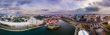 Aerial View Drone, Cityscape O...