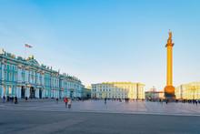 Alexander Column On Palace Squ...