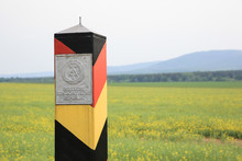 Grenzpfahl DDR