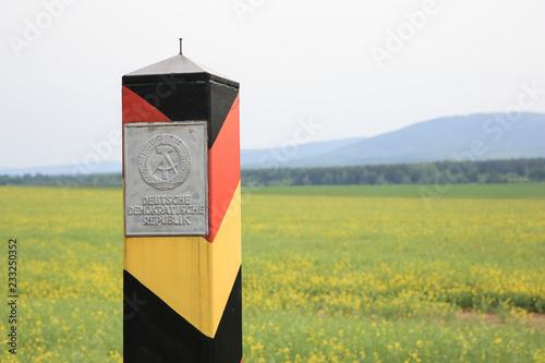 Fotografía  Grenzpfahl DDR