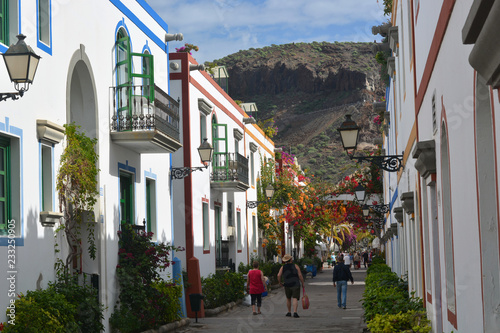 Deurstickers Canarische Eilanden the beautiful climate of the Canary Islands, the islands of eternal spring
