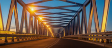Truss Bridge, Steel Structure