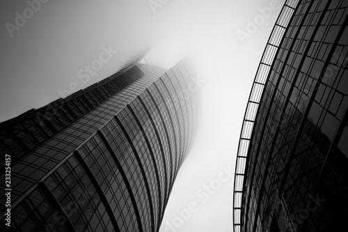 Fototapeta Fog in the Warsaw obraz