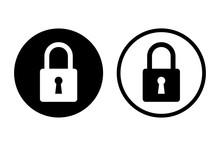 Padlock Icon Set. Vector
