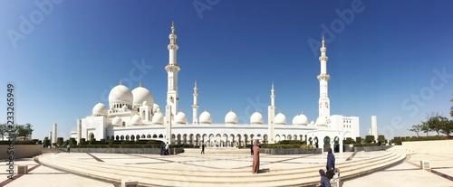 Carta da parati  Abu Dabhi Mosque Panorama