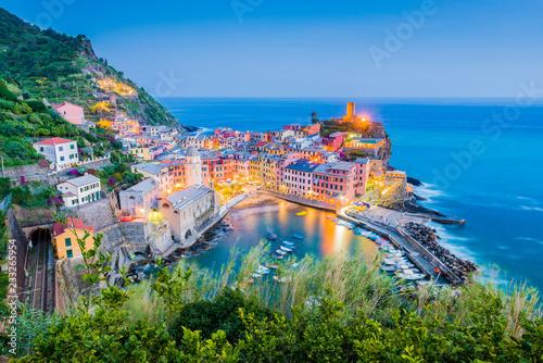 Photo  Vernazza in Cinque Terre, Liguria, Italy.