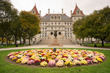 State Capitol Building Statehouse Albany New York Lawn Landscaping