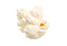 Popcorn Isolated On A White Background. Full Depth Of Field