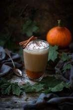 Vegan Pumpkin And Almond Latte...