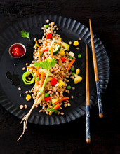Nasi Goreng With Vegetables (Indonesia)