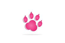 Footprint Logo Vector Image