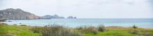 Vistas Del Cabo Villano En La Costa De La Muerte , Camariñas, En La Provincia De La Coruña. Verano De 218