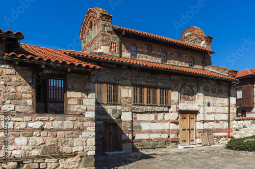 Papiers peints Con. Antique Ruins of Ancient Church of Saint Stephen in the town of Nessebar, Burgas Region, Bulgaria