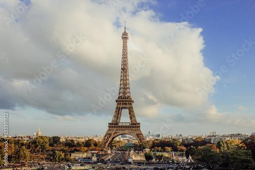 Photo Stands Paris inspiring view of paris, france